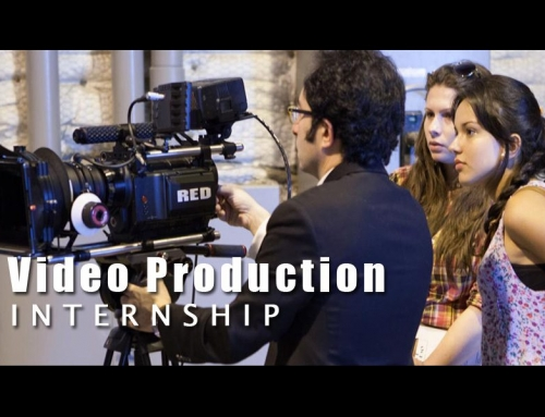Why You Should be A Video Production Intern